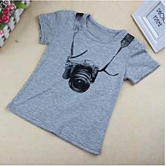 tanie Odzież dla chłopców-Brzdąc Dla chłopców Krótki rękaw Bawełna T-shirt
