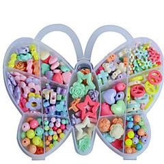 die New-DIY der kreativen pädagogischen Geschenk der Kinder spielt die Schmetterling-Box Perlen