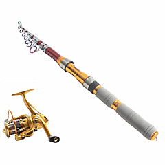 cheap Fishing Rods-Fishing Rod + Reel Fishing Rod Telespin Rod Telespin Rod Carbon Sea Fishing Rod & Reel Combos