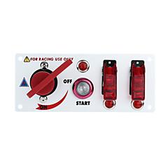 billiga Bildelar-flip-up starta tändningslåset panel och tillbehör för racing sport (DC 12V)