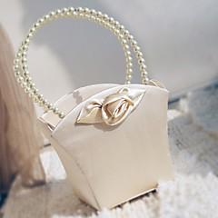 """olcso -virág kosár szatén 9 """"(23 cm) faux gyöngy 1 esküvői gyönyörű"""