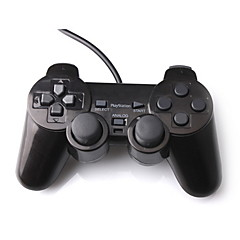 cheap Video Game Accessories-Dual Shock Controller for PS2 (Black)