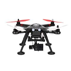 billige Fjernstyrte quadcoptere og multirotorer-RC Drone WL Toys X380-C 4 Kanaler 6 Akse 2.4G Med 1080 P HD-kamera Fjernstyrt quadkopter En Tast For Retur Feilsikker Hodeløs Modus Styr