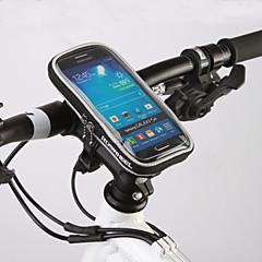 זול תיקי אופניים-ROSWHEEL טלפון נייד תיק / תיקים לכידון האופניים 4.8 אִינְטשׁ מסך מגע רכיבת אופניים ל Samsung Galaxy S6 / אייפון 5C / אייפון 4\4S / iPhone 8/7/6S/6