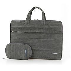 fopati® 14inch laptop case / tas / hoes voor Lenovo / mac / samsung bruin / lichtgrijs / donkergrijs