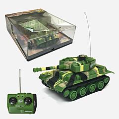 Tank Radiostyrt Bil Klar-Til-Bruk Tank Fjernkontroll/Sender Batterilader Bruksanvisning Batteri for bil