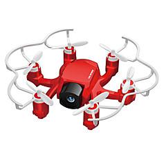 billige Fjernstyrte quadcoptere og multirotorer-RC Drone FQ777 126C 4 Kanaler 6 Akse 2.4G Med 2,0 M HD-kamera Fjernstyrt quadkopter En Tast For Retur / Hodeløs Modus / Flyvning Med 360 Graders Flipp Fjernstyrt Quadkopter / Fjernkontroll / USB-kabel