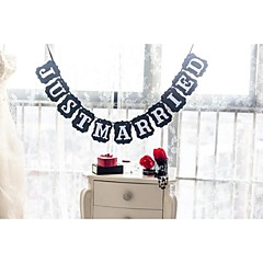 billige Vielsesdekorationer-Bryllup / Jubilæum / Forlovelse / Polterabend Hårdt Kortpapir Bryllup Dekorationer Strand Tema / Have Tema / Blomster Tema Forår Sommer