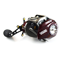 cheap Fishing Reels-Fishing Reel Baitcasting Reels 6.3:1 Gear Ratio+18 Ball Bearings Left-handed Right-handed Bait Casting Lure Fishing