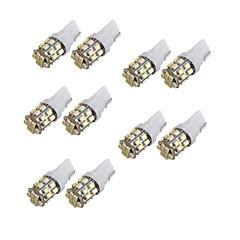 10st t10 24SMD 1206 witte auto wedge led auto kentekenplaat klaring lamp lezing lamp (12V)