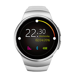 cheap -KING WEAR YYKW18 Smartwatch Android iOS Bluetooth Sports Touch Screen Calories Burned Long Standby Hands-Free Calls Call Reminder Activity Tracker Sleep Tracker Sedentary Reminder Find My Device