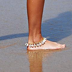 baratos Bijoux de Corps-Tornezeleira - Concha Original, Borla, Fashion Prata / Dourado Para Diário Casual Praia Mulheres