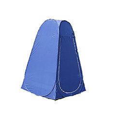 """1 אדם אוהל מחסה וברזנט יחיד קמפינג אוהל חדר אחד שינוי אוהל מלתחה עמיד ללחות ייבוש מהיר נשימה ל קמפינג לטייל חוץ 2000-3000 מ""""מ 120*120*190"""
