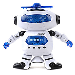 360 pyörivä lasta elektroninen kävely tanssi älykäs tila robotti lapset jäähtyä astronautti malli musiikki valo leluja