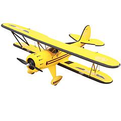 """RC מטוס Waco YMF-5D 5 ערוצים 2.4G 1: 8 50 ק""""מ / H ק""""מ / ח יש צורך בהרכבה חשמלי ללא מברשת"""