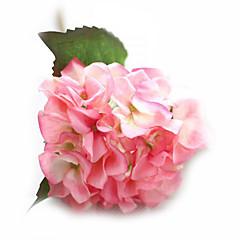 billige Kunstige blomster-Kunstige blomster 1 Gren Bryllupsblomster Roser Hortensiaer Bordblomst