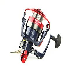 billiga Fiskerullar-Snurrande hjul 5.2/1 Växlingsförhållande+12 Kullager Hand Orientering utbytbar Kastfiske / Generellt fiske - MF6000