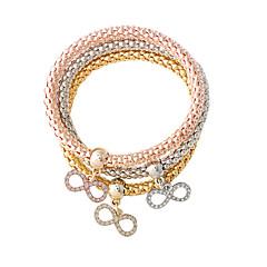 billige -Dame Charm-armbånd Yndig Legering Butterfly Form Guld/Sølv Smykker For 1 Sæt