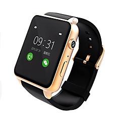 tanie Inteligentne zegarki-Inteligentny zegarek na iOS / Android Pulsometry / Odbieranie bez użycia rąk / Ekran dotykowy / Wodoszczelny / Wodoodporny / Kamera Rejestrator aktywności fizycznej / Rejestrator snu / siedzący
