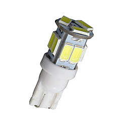 cheap Car Interior Lights-SO.K 10pcs T10 Car Light Bulbs W SMD 5730 300lm lm 11 Interior Lights