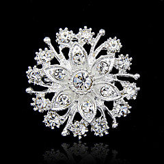 Women's Brooches Fashion Costume Jewelry Rhinestone Jewelry For Party Special Occasion Birthday Gift Daily