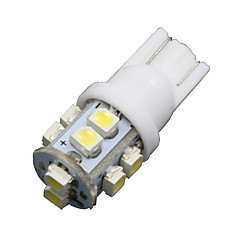 10x super wit t10 / 921/912 nummerplaat tag& interieur 10-LED SMD gloeilampen