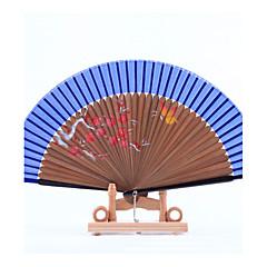 Fanoušci a slunečníky-Piece / Set Ruční ventilátor Plážový motiv Zahradní motiv Asijská motiv Květinový motiv Klasický motiv Vintage