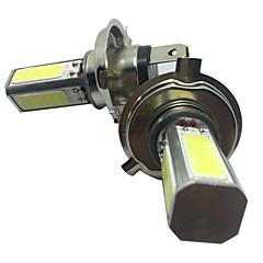 2pcs h4 30w COB светодиодные белый цвет ближнего света фар h4 Комплект светодиодных фар