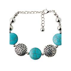 cheap Bracelets-Bracelet Strand Bracelet Alloy Circle Fashion Wedding Jewelry Gift Green,1pc