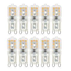 tanie Dekorativní osvětlení-10x lampa indukcyjna 10x ściemnialna g9 4w 300-400 lm diody bi-pin 2835smd ciepła biała zimna biała naturalna biała żarówka ac 220v ac 110v