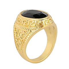 Heren Dames Statementringen Modieus Kostuum juwelen Agaat Legering Sieraden Voor Feest Dagelijks Causaal