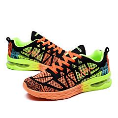 36-44 נעלי ספורט נעלי ריצה בגדי ריקוד נשים בגדי ריקוד גברים ריפוד נושם סוליה נמוכה רשת נושמת גומי ריצה צעידה