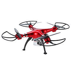 RC Drone SYMA X8HG 4 Kanaler 6 Akse 2.4G Med HD-kamera Fjernstyrt quadkopter Hodeløs Modus Flyvning Med 360 Graders Flipp Sveve Med kamera
