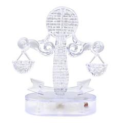 tanie Gry i puzzle-Zabawki 3D Puzzle Kryształowe puzzle Zabawa Kryształ Plastikowy Klasyczny Prezent