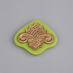 billige Bakeredskap-Bakeware verktøy silica Gel Silikon Økovennlig Non-Stick Håndtak Kake Til Småkake For Småkake Pastry Tool