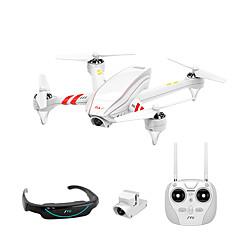 billige Fjernstyrte quadcoptere og multirotorer-RC Drone JYU Hornet S FPV 7CH 6 Akse 2.4G Med HD-kamera 480P*240P Fjernstyrt quadkopter FPV / LED Lys / En Tast For Retur Fjernstyrt