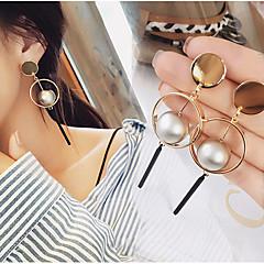 cheap Earrings-Women's 1 Drop Earrings Hoop Earrings Dangle Earrings Jewelry Gold Alloy Jewelry Wedding Party Daily Casual Costume Jewelry