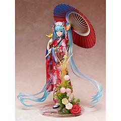 Anime Action Figures geinspireerd door Vocaloid Hatsune Miku PVC 22 CM Modelspeelgoed Speelgoedpop