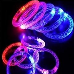 ライトアップおもちゃ ゲーム玩具 サーキュラー プラスチック 虹色 フリーサイズ