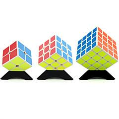 Rubiks kube YongJun Glatt Hastighetskube 2*2*2 3*3*3 4*4*4 Hastighet profesjonelt nivå Magiske kuber Kvadrat Nytt År Jul Barnas Dag Gave