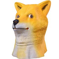 Halloween-Masken Tiermaske Spielzeuge Shiba Inu Hundekopf Horror-Theme 1 Stücke Halloween Maskerade Geschenk