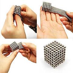 216pcs 3 milímetros prata diy bolas magnéticas esferas esfera mágica cubo ímã enigma construção bloco educação brinquedo