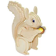 baratos -Quebra-Cabeças de Madeira Esquilo Nível Profissional De madeira 1pcs Crianças Para Meninos Dom
