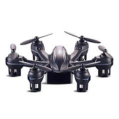 billige Fjernstyrte quadcoptere og multirotorer-RC Drone X901 4 Kanaler 6 Akse 2.4G Fjernstyrt quadkopter LED Lys / Flyvning Med 360 Graders Flipp Fjernkontroll / USB-kabel / Luftkraft