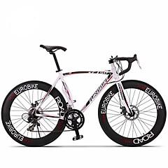 お買い得  自転車-ロードバイク サイクリング 14スピード 26 inch/700CC 60ミリメートル 男性 / ユニセックス 大人 SHIMANO A050 ダブルディスクブレーキ ノーダンパー モノコック / ハードテールフレーム 普通 EUROBIKE アルミニウム合金