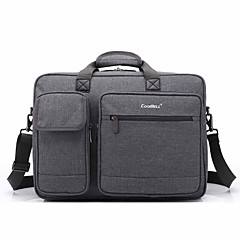 billige -17,3 tommers multi-compartment laptop skulder bag hånd bag for dell / hp / Sony / acer / lenovo / overflatevann etc
