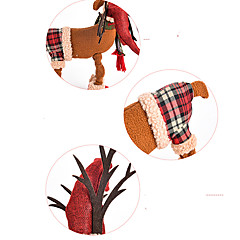 Holiday Decorations Christmas Decorations Christmas Figurines Toys Elk Deer Furnishing Articles Boys' Girls' Pieces