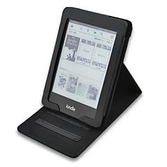 billige Nettbrettetuier-hånd-hold lær dekke saken for amazon 2014 nye Kindle Touch syv syvende generasjon ebøker ereader