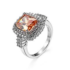 cheap Rings-Women's Ring AAA Cubic Zirconia Fashion European Zircon Cubic Zirconia Turquoise Jewelry For Wedding Halloween Daily Casual