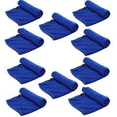 ziqiao 10 kpl / erä mikrokuituliina auton pesu kankaalla pesu pyyhe tuotteet pöly välineitä (30 * 70cm)